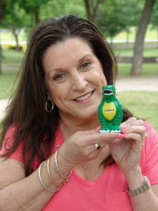 Denise with T-Rex