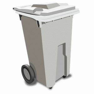 Shredding Bin - Collection Container